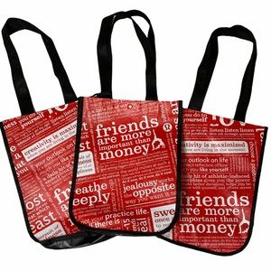 Lot of 3 Lululemon Tote bags for crafting shopping